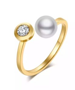 bague perle tendance 2021