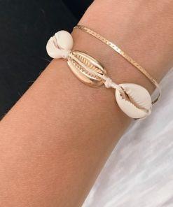 bracelet createur coquillage original