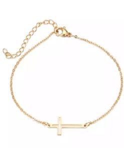 bracelet croix cadeau petit prix