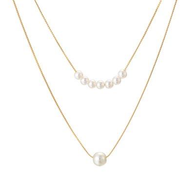 collier fantaisie perles cadeau
